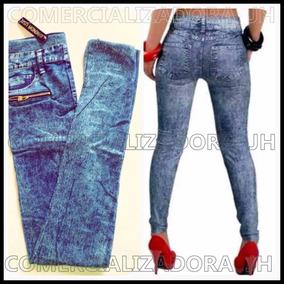 Leggins Tipo Jeans Brenda Importados Con Bolsillos Reales