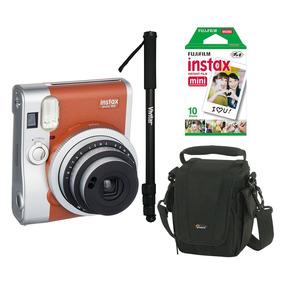 Câmera Instantânea Fujifilm Instax Mini 90 + Acessórios