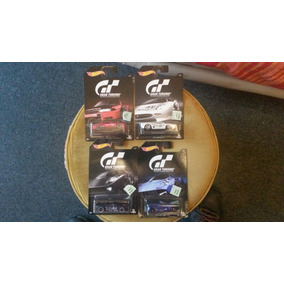 Hot Wheels Lote 8 Autos Serie Gran Turismo Playstation