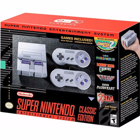 Super Nintendo - Snes Classic Edition - Novo- Pronta Entrega