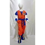 Disfraz Tipo Dragon Ball Goku Vegeta Gohan