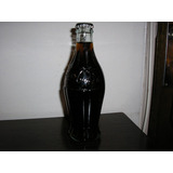 Vieja Botellita De Coca Cola Vidrio Con Forma Panzona