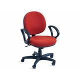 Cadeira Giratória Espaldar Médio Com Relax E Apoia Braços