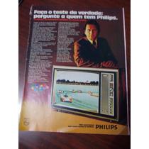 Propaganda Antiga - Philips Tv/ Banco Econômico S.a
