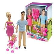 Muñeca Poppi Kiara Y Su Familia