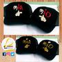 Gorras Personalizadas Mickey Minnie Novios Amor Venezuela