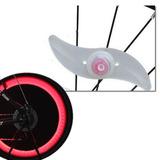 Luz Led Roda Bike - 3 Modos Iluminação - Bicicleta Segurança