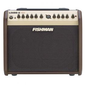Cubo Para Violão Fishman Pro-lbx-ex5 Loudbox Mini 60w 110v