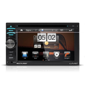 Dvd Multilaser Live 2din Gps/tv/touch Screen/usb/3g