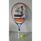 Raqueta Tenis Head 25 Modelo Novak Con Pelota&envió Gratis