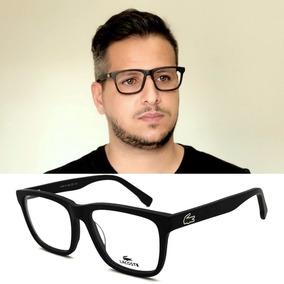 Armação Oculos Grau Lacoste La2793 Black Original Acetato. R  120 ac264cfb3f