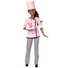 Barbie Muñeca Chef Repostera Fashion Cupcake 12 Inch Mattel