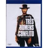 Blu Ray Três Homens Em Conflito - Dub/leg, Lacrado. Black F
