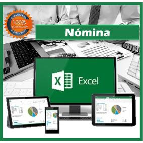 Nomina Con Recibo De Pago Formato Semanal Aplicaciones