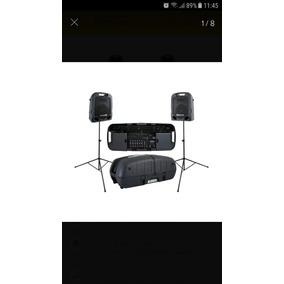 Sistema Portable Peavey Escort 3000 300w 7 Canales