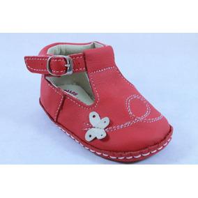 Zapatos Bully Bilus Rojo Para Niña 11 O 12 Mod 173