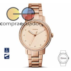 Fossil Reloj Mujer Correa Metálica Original Fosil Es4288