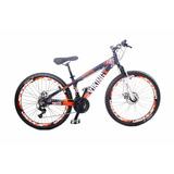 Bicicleta Bike Rebaixada Viking Freio A Disco Mecânico 21v