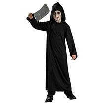Disfraz Para Niños Bata Terror Negro De La Casa Encantada H
