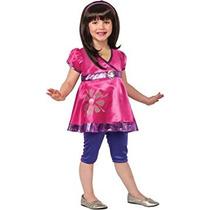 Disfraz Para Niña Rubíes Dora Y Sus Amigos Dora El Traje De