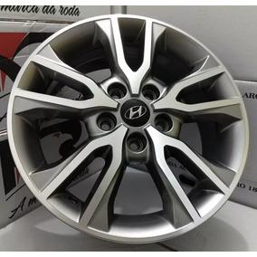 Jogo Rodas Krmai R98 Hyundai Creta Pcd 2018 Aro16 +bico