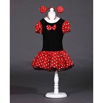 Disfraz Niñas Con Diadema De Minnie Mouse De Halloween Tutu