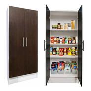 Despensero 2 Puertas Cocina 60x150x30cm Organizador &