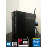 Lenovo Tiny M73 Core I3 4130t 16gb Ram Corsair Ssd 120gb