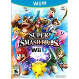 Super Smash Bros Wiiu Nuevo Sellado Game Sport Chile