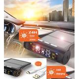 Tpms Sensor Presion Llantas Auto Camioneta Wireles Solar