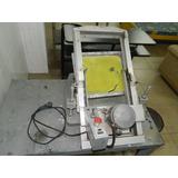 Maquina Serigrafica Plana Automatica Usada