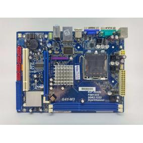 Placa Mãe Intel Lga775 Ddr3 G41-m3 Phitronics 8gb Oem Nf