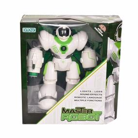 Master Robot Control Remoto Misiles Luz Y Sonido Original