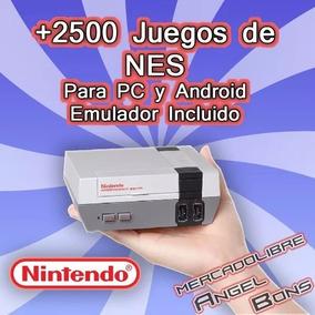 2500 Juegos Nintendo Nes Emulador Pc Y Android Colección