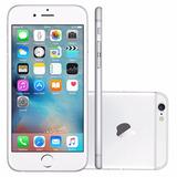 Iphone 6 16gb Prata Novo De Vitrine + Caixa E Acessórios