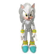 Figura Sonic Silver The Hedgehog Plateado Erizo Del Futuro