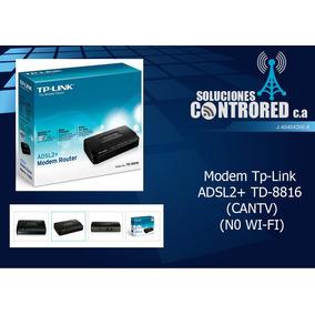 Modem Adsl2+ Tp-link Td-8816 Para Cantv (no Es Wi-fi)