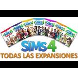 Los Sims 4 Deluxe Todas Expanciones 2017 + Perros Y Gatos