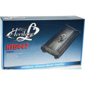 Planta Carro Lanzar Htg447 2000-watt 4-canales Amplificador
