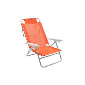 Silla Reposera Mor Summer Naranja