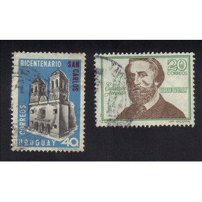 Selos Uruguai - Bicentenario San Carlos- Eduardo Acevedo