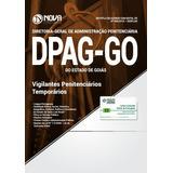 Apostila Dpag-go 2018 - Agente Penitenciário Temporário