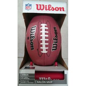 Balon De Futbol Americano Original 100% Con Accesorios