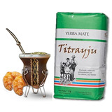 Yerba Mate Orgánica Titrayju - Apta Celiacos - Envío Gratis
