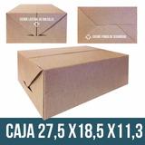 Caja De Carton Delivery Multiuso Comida Rapida Frituras Etc