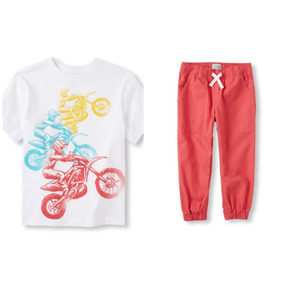 Joggers Y Remera The Children
