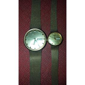Par Relojes Mido Comander Ocean Star Dataday Originales