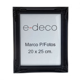 Marco Para Foto Negro 20 X 25 Cm