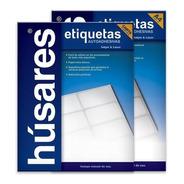 Etiquetas Autoadhesivas Husares H34136 A4 5,25 X 3,3 100h