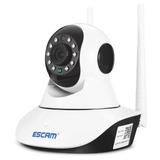 Camara De Vigilancia Ip 360 Grado Visión Nocturna Escam G02
